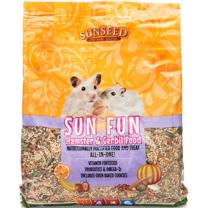 Sunseed Sun-Fun Hamster & Gerbil Food