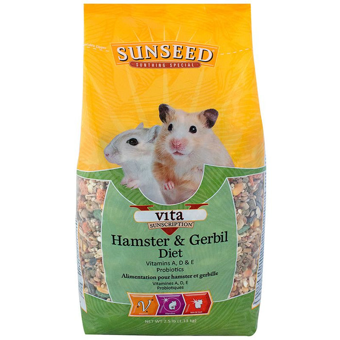 Sunseed Vita Sunscription Hamster & Gerbil Diet