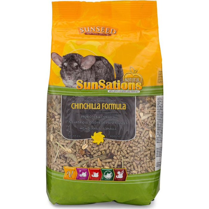 Sunseed SunSations Natural Chinchilla Formula