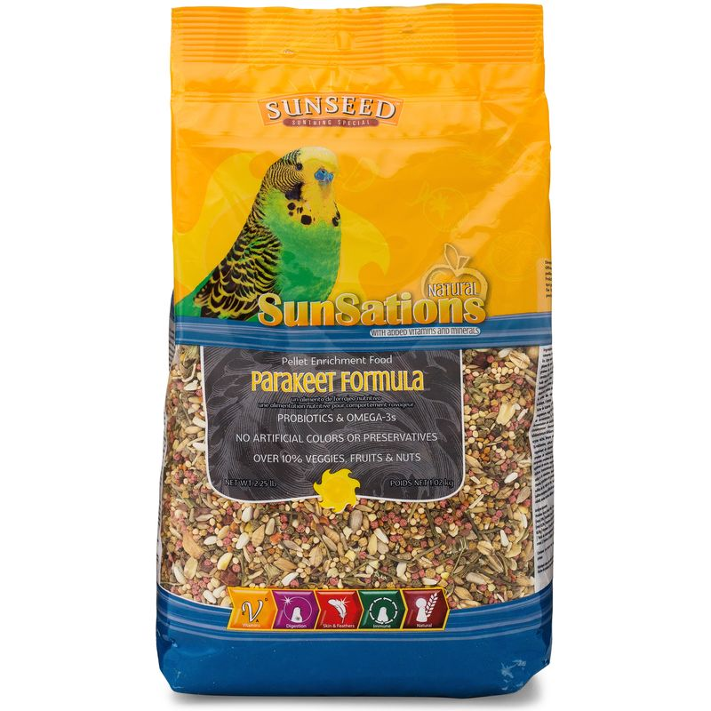 Sunseed SunSations Natural Parakeet Formula