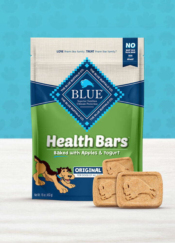 BLUE Health Bars™ Baked with Apples and Yogurt, 16 oz