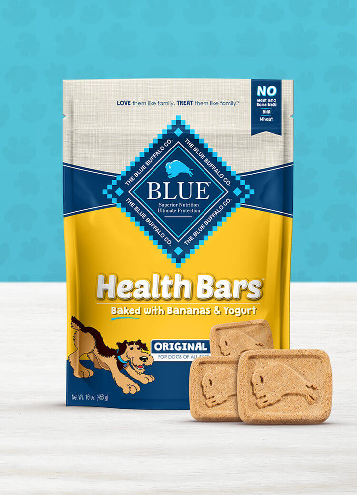 BLUE Health Bars™ Baked with Banana and Yogurt, 16 oz
