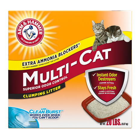 ARM & HAMMER™ Multi-Cat Strength Clumping Litter, Original