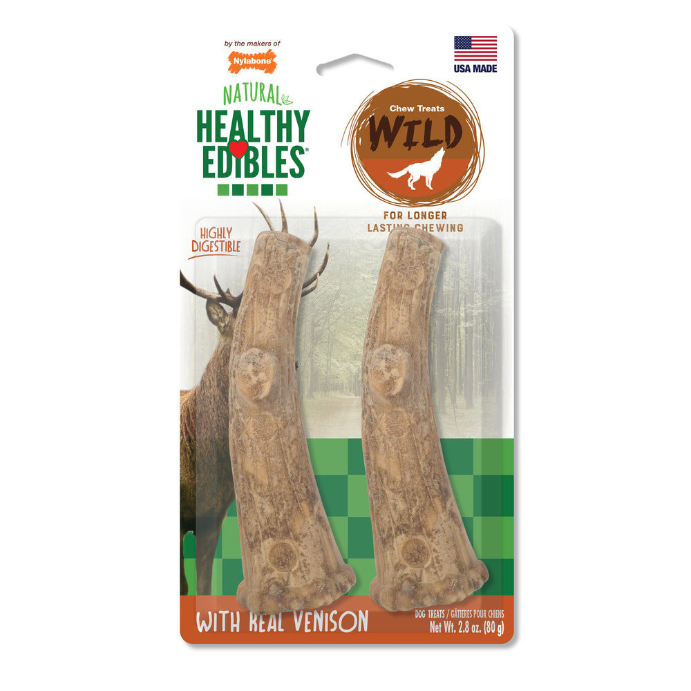 Healthy Edibles® Antler Chew Treats, 2 Count