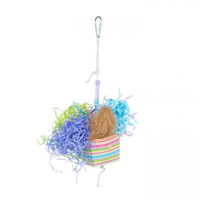 Calypso Creations Basket Banquet Bird Toy