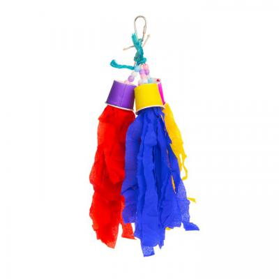 Calypso Creations Rocket Tails Bird Toy