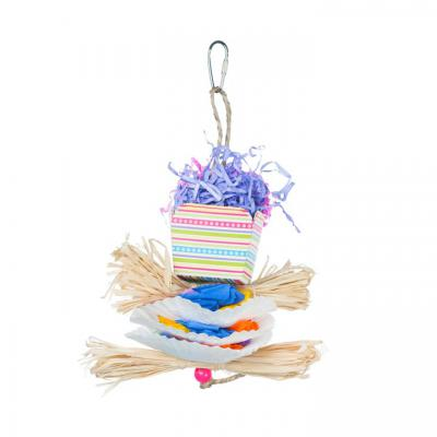 Calypso Creations Dessert Delights Bird Toy