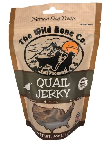 The Wild Bone Co. Natural Quail Jerky
