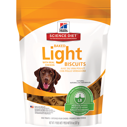 Hill's® Science Diet® Baked Light Biscuits with Real Chicken Medium Dog Treat