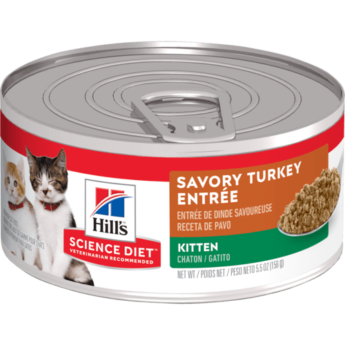 Hill's® Science Diet® Kitten Savory Turkey Entrée, 5.5oz