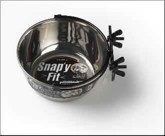 Snap'y-Fit™ Water Bowls
