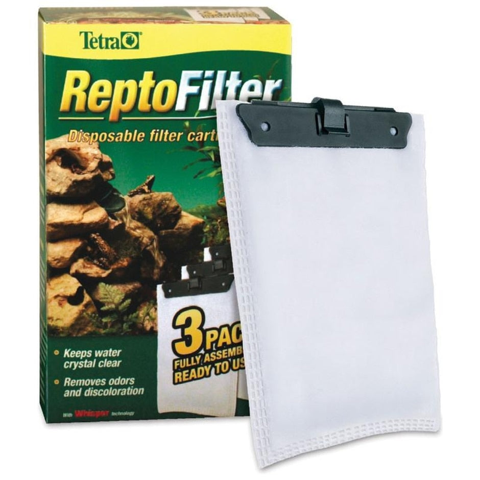 ReptoFilter Disposal Filter Cartridge, 3 pack