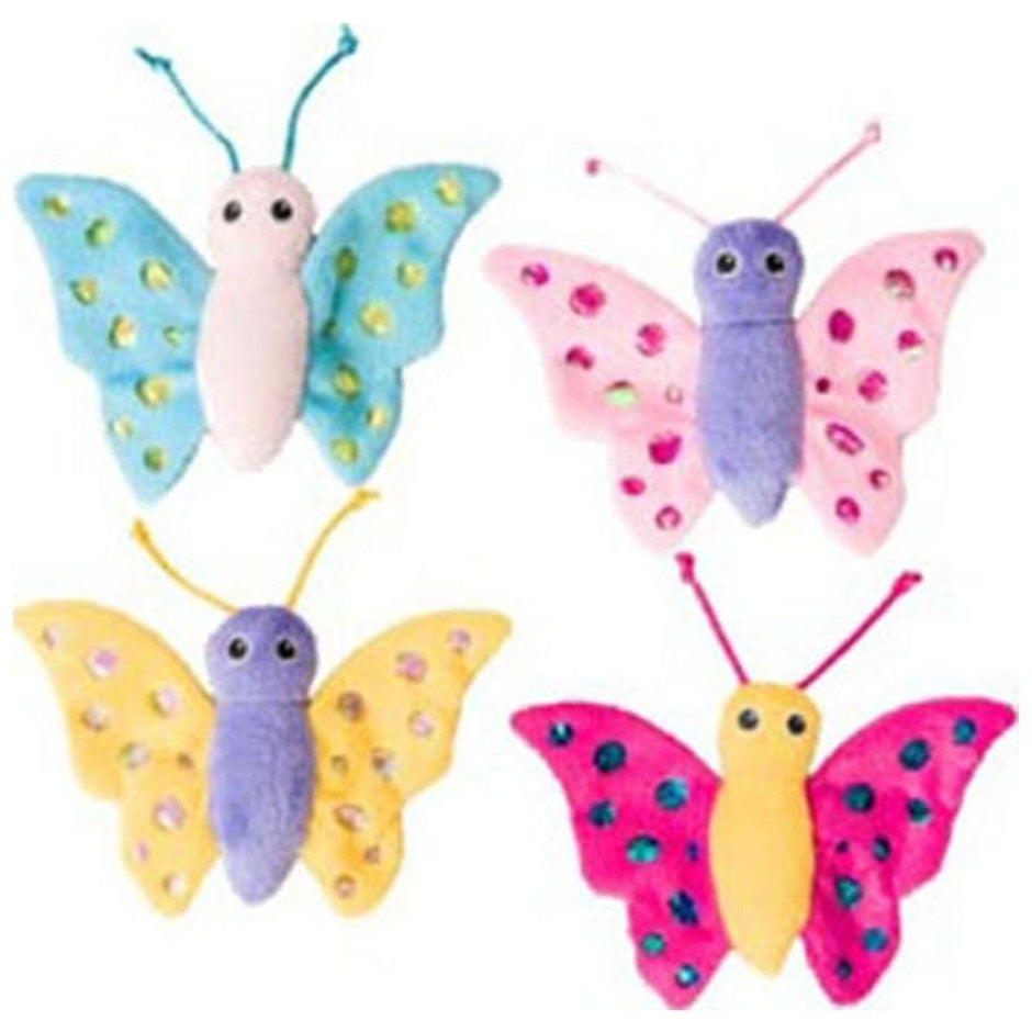 Shimmer Glimmer Butterfly with Catnip Toy-4 inch