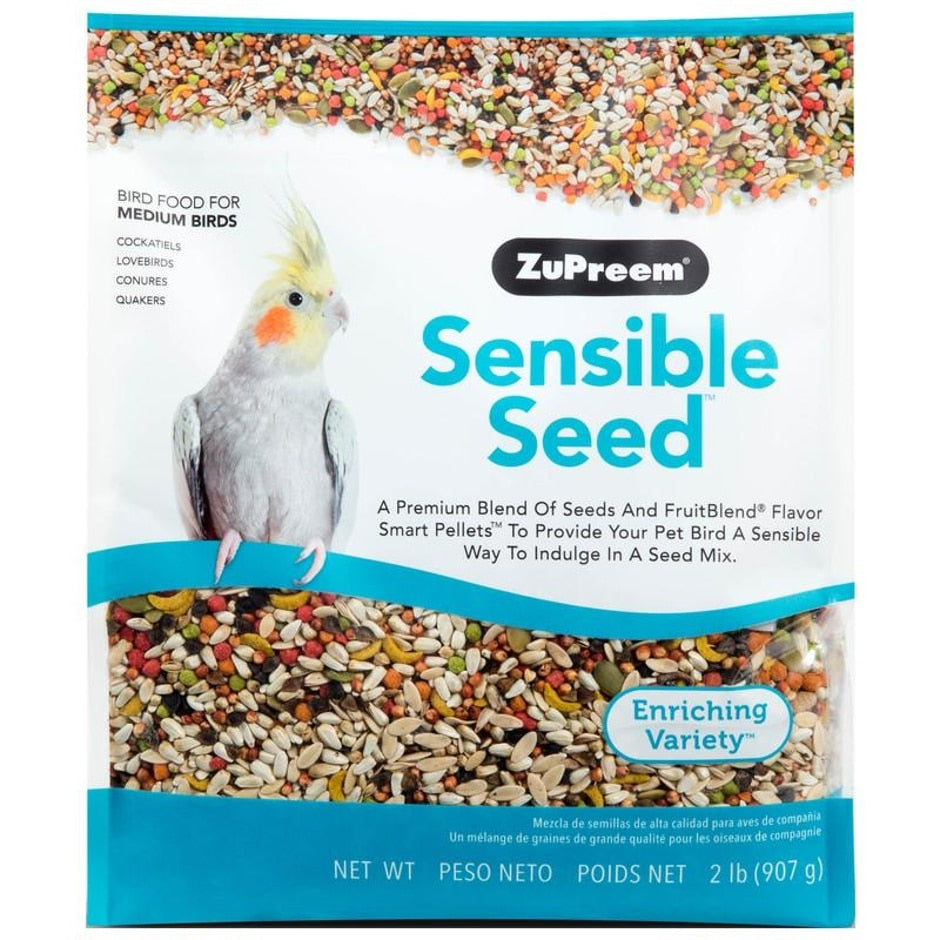 Sensible Seed Medium Bird Food, 2 lb