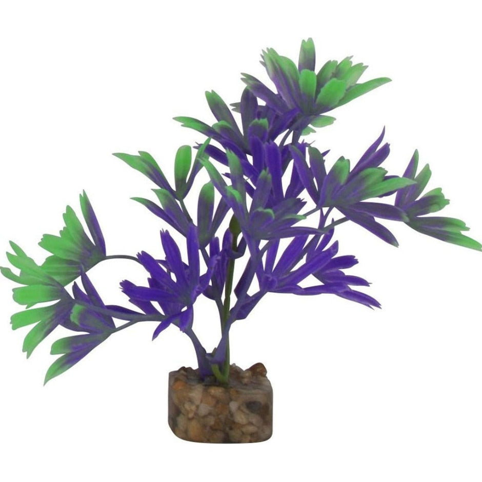 GloFish® Cycle Light Plant,  Purple & Green