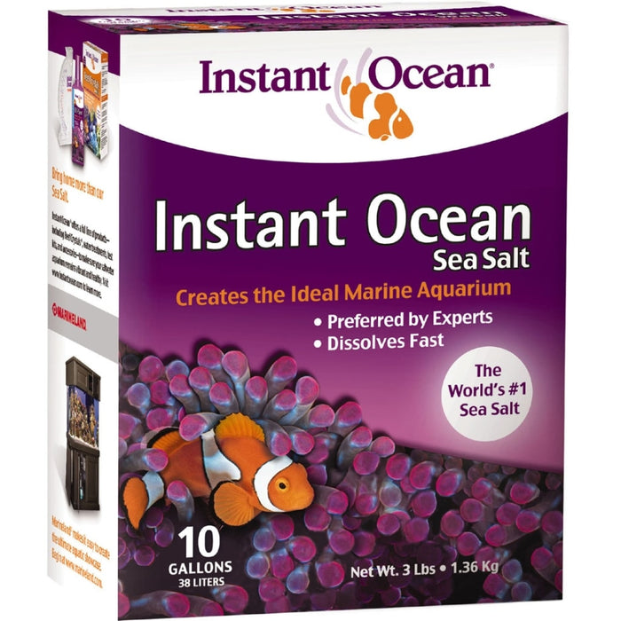 Instant Ocean Sea Salt Box