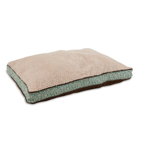 Petmate Gusseted Teal Pillow Bed