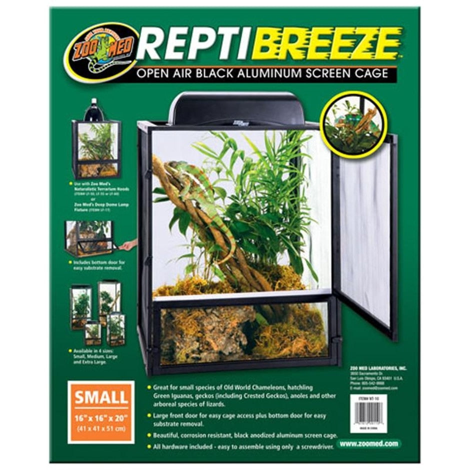 Reptibreeze Open Air Aluminum Screen Cage