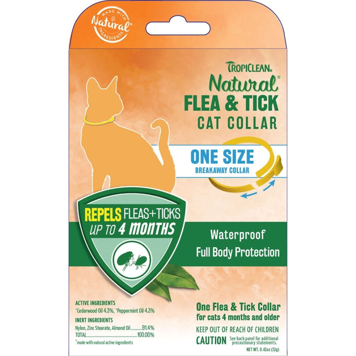 Natural Flea & Tick Cat Collar