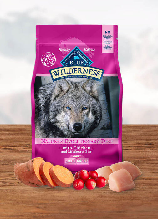 BLUE Wilderness™ Small Breed Adult Dog Chicken Recipe