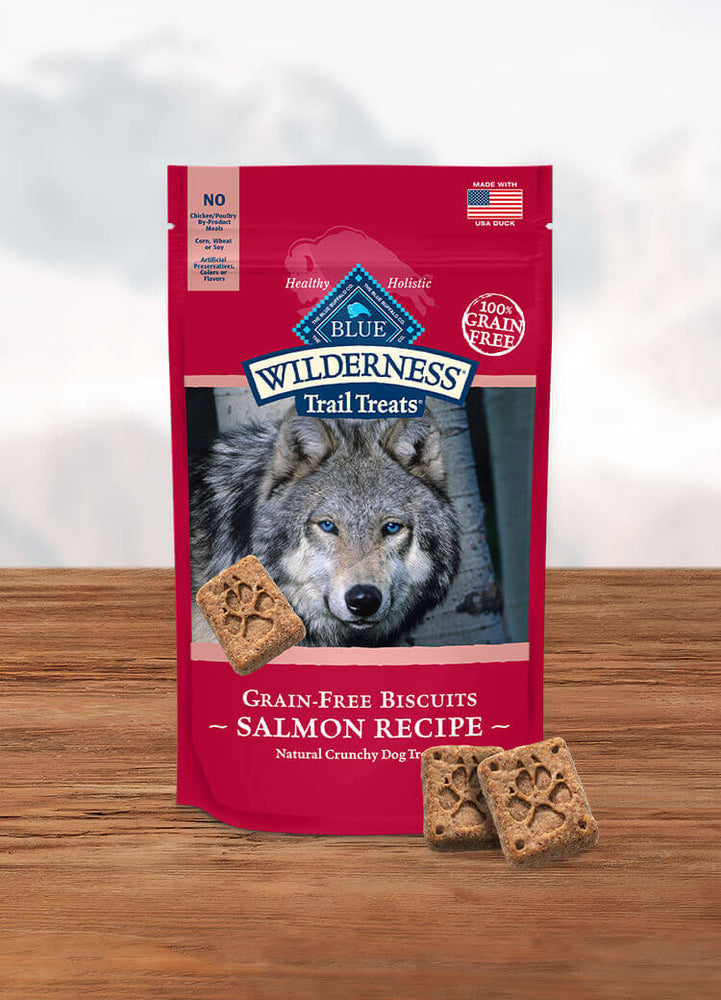 BLUE Wilderness™ Trail Treats™ Salmon Biscuits, 10 oz