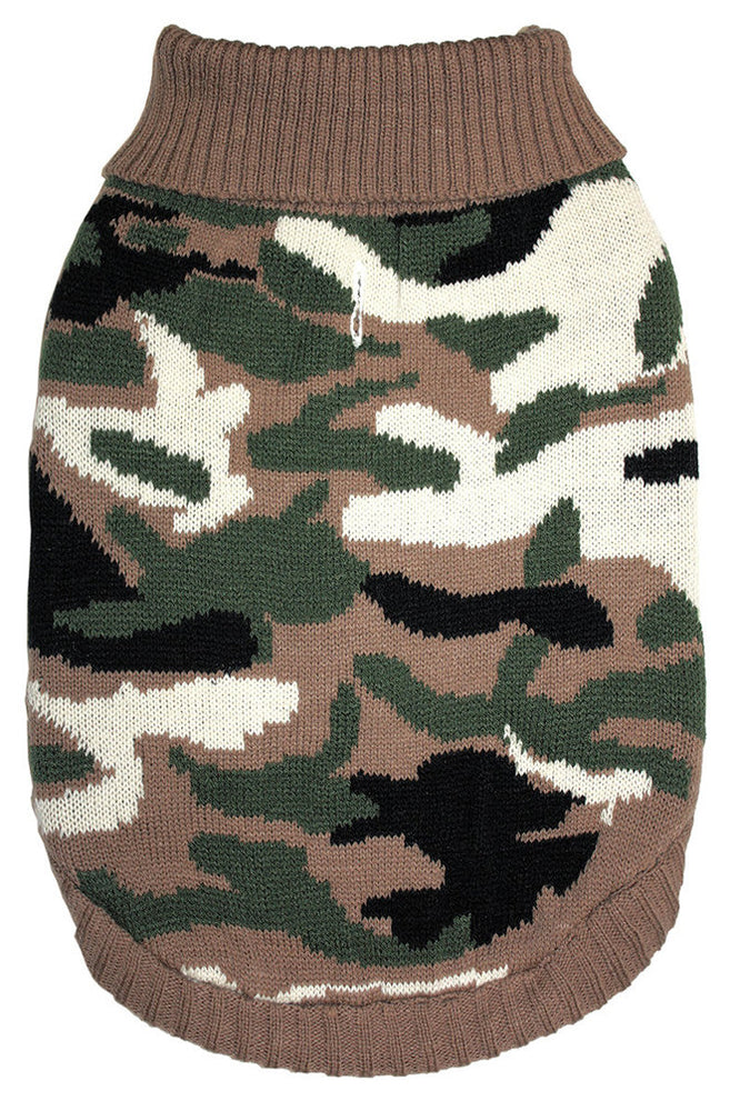 Fashion Pet Camouflage Sweater