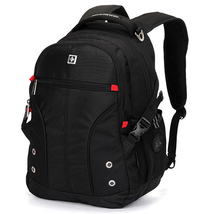 0ffcb52e7963 Suissewin Travel Laptop Backpack for Men and Women Fits 15.6 Inch Laptops  SN9016