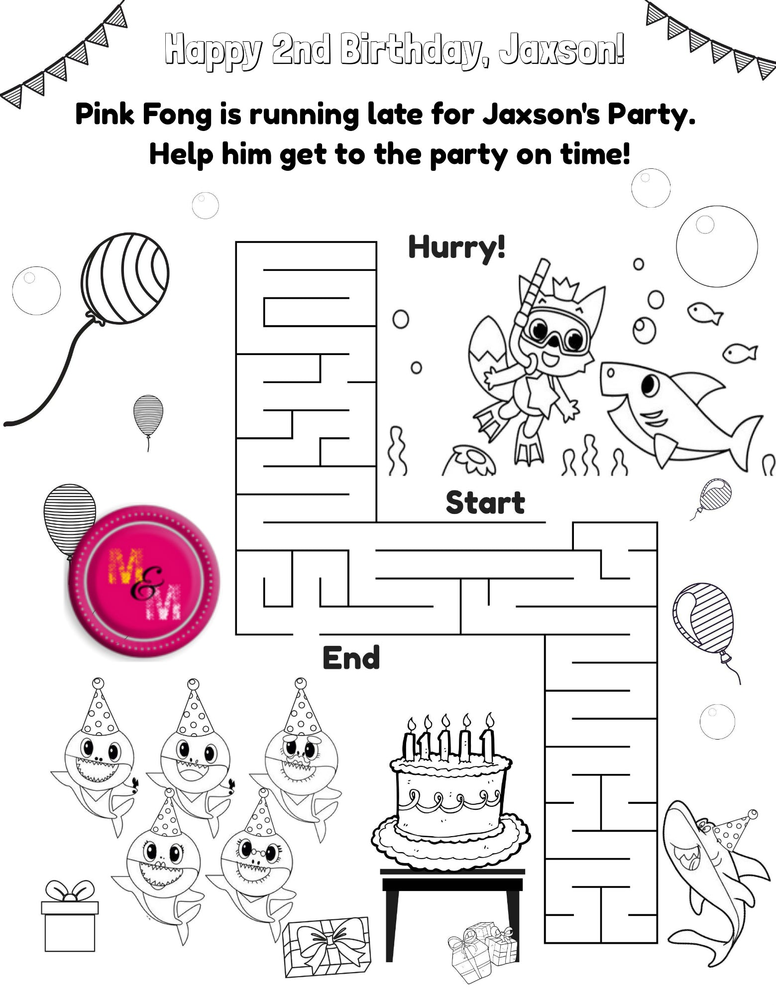 2nd Birthday Cake Coloring Pages | Birthday coloring pages, Happy 4th  birthday, Happy birthday cards printable | 2018x1559