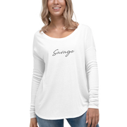 Savage Ladies' Long Sleeve Top