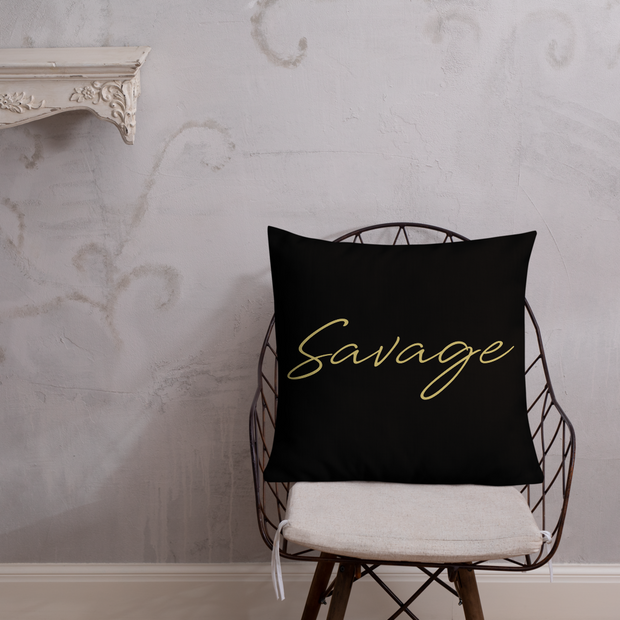 Savage Premium Pillow
