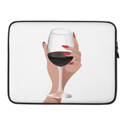 Wine Please Laptop Sleeve