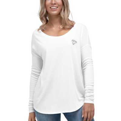 Diamond Ladies' Long Sleeve Top