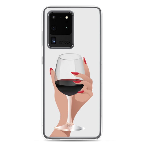 More Wine Please Samsung Case