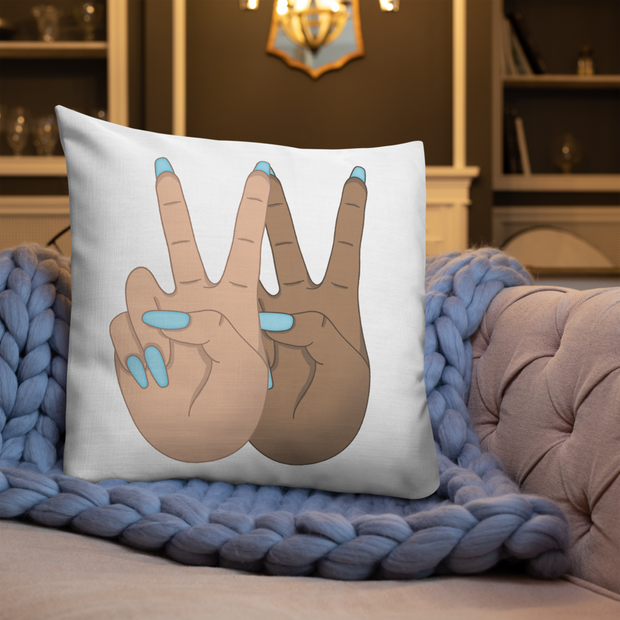Peace Premium Pillow