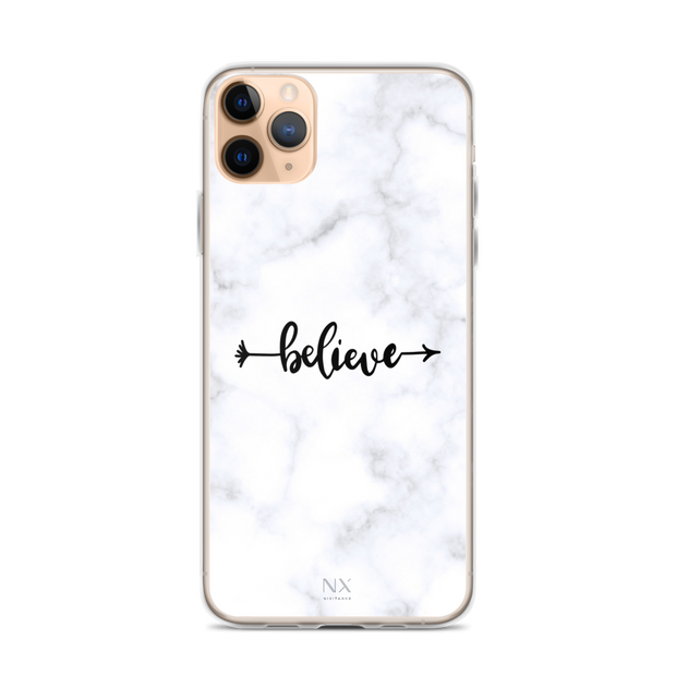 Believe iPhone Case