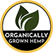 Organically Grown Hemp Seal