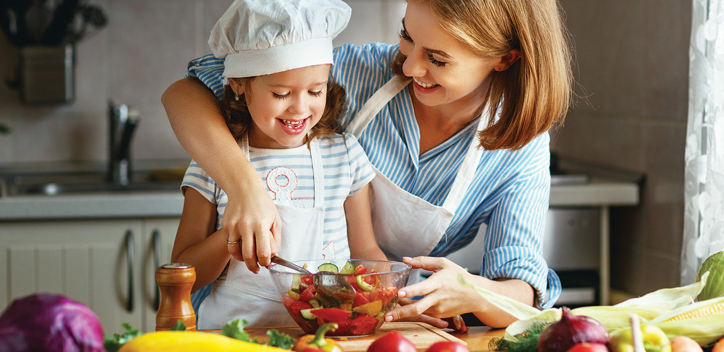 Family cooking together - recipes and more.