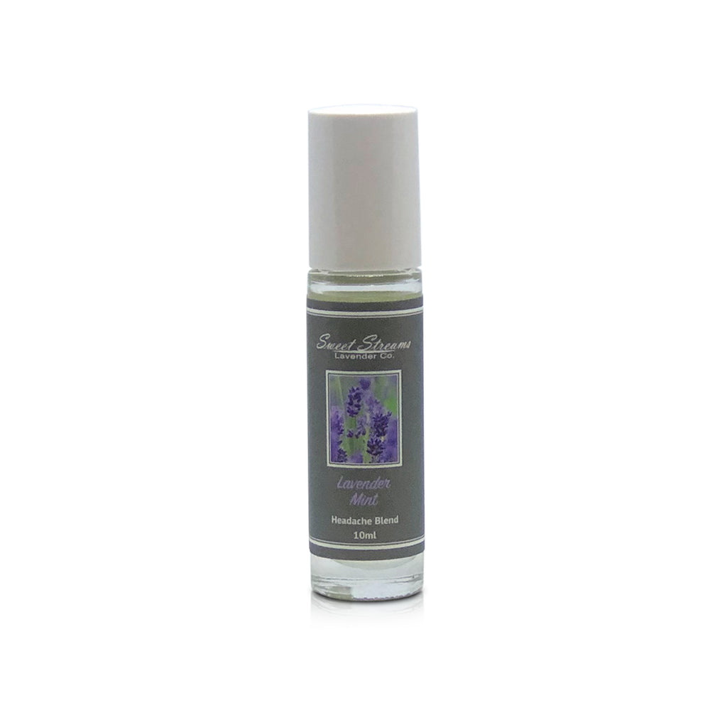 Sweet Streams Lavender Co. Lavender & Mint Headache Roller - 10ml