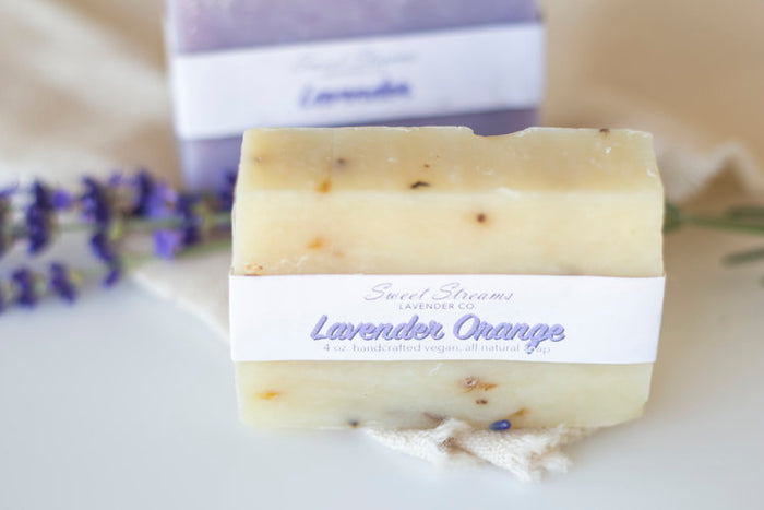Sweet Streams Lavender Co. Lavender & Orange Bar Soap - 4 oz