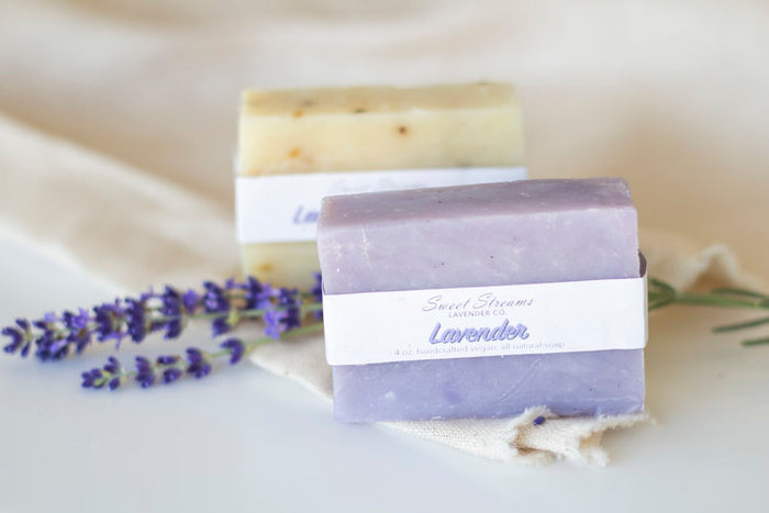 Sweet Streams Lavender Co. Pure Lavender Bar Soap - 4oz