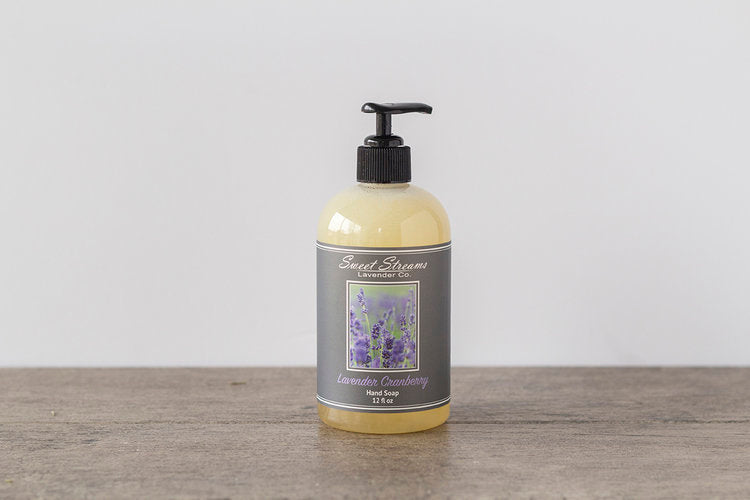 Sweet Streams Lavender Co. Lavender & Cranberry Hand Pump Soap - 12oz