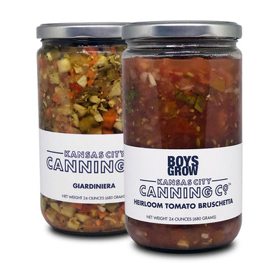 Tomato Bruschetta and Giardiniera Gift Set