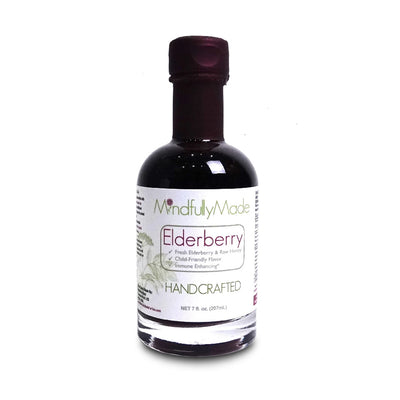 Mindfully Made Elderberry Syrup - 7 Oz