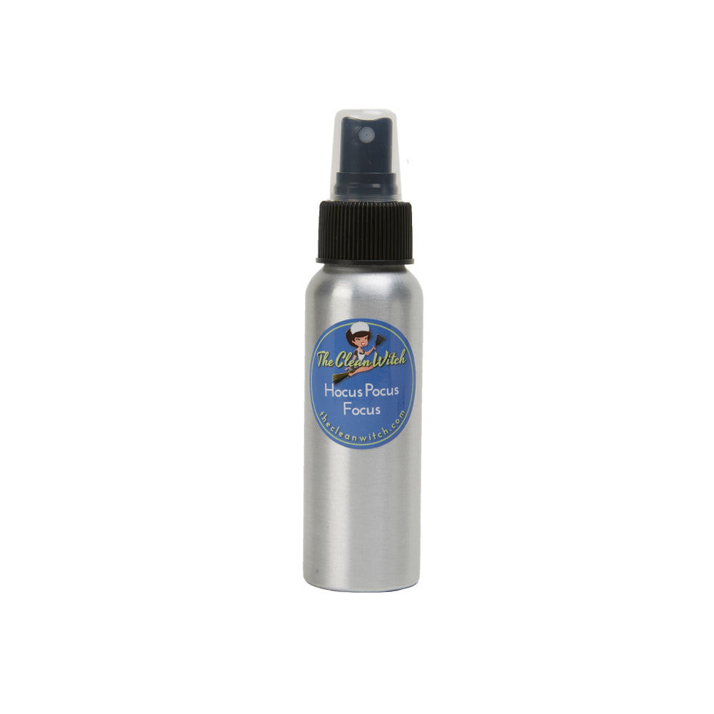 Hocus, Pocus, Focus Aromatherapy Spell Spray - The Clean Witch - 2.7 Oz