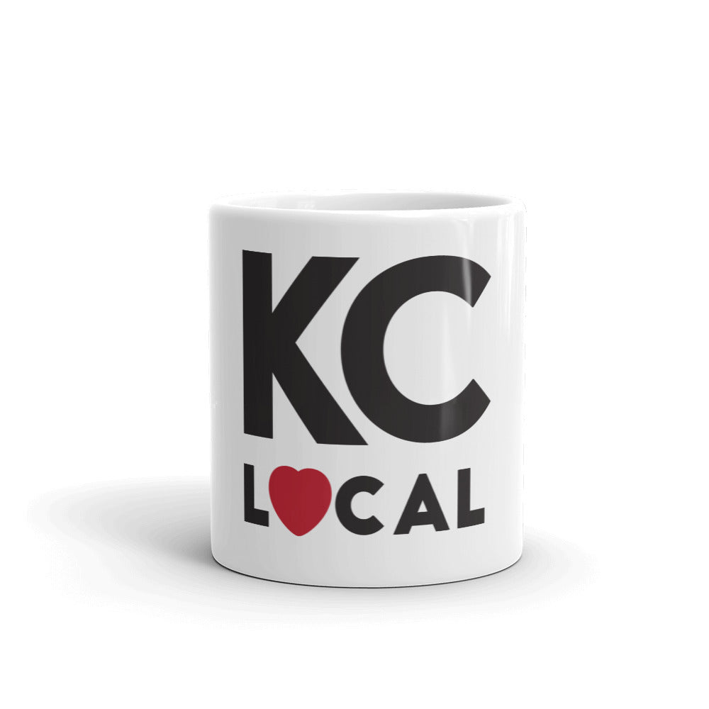 11 oz White KC Local Mug