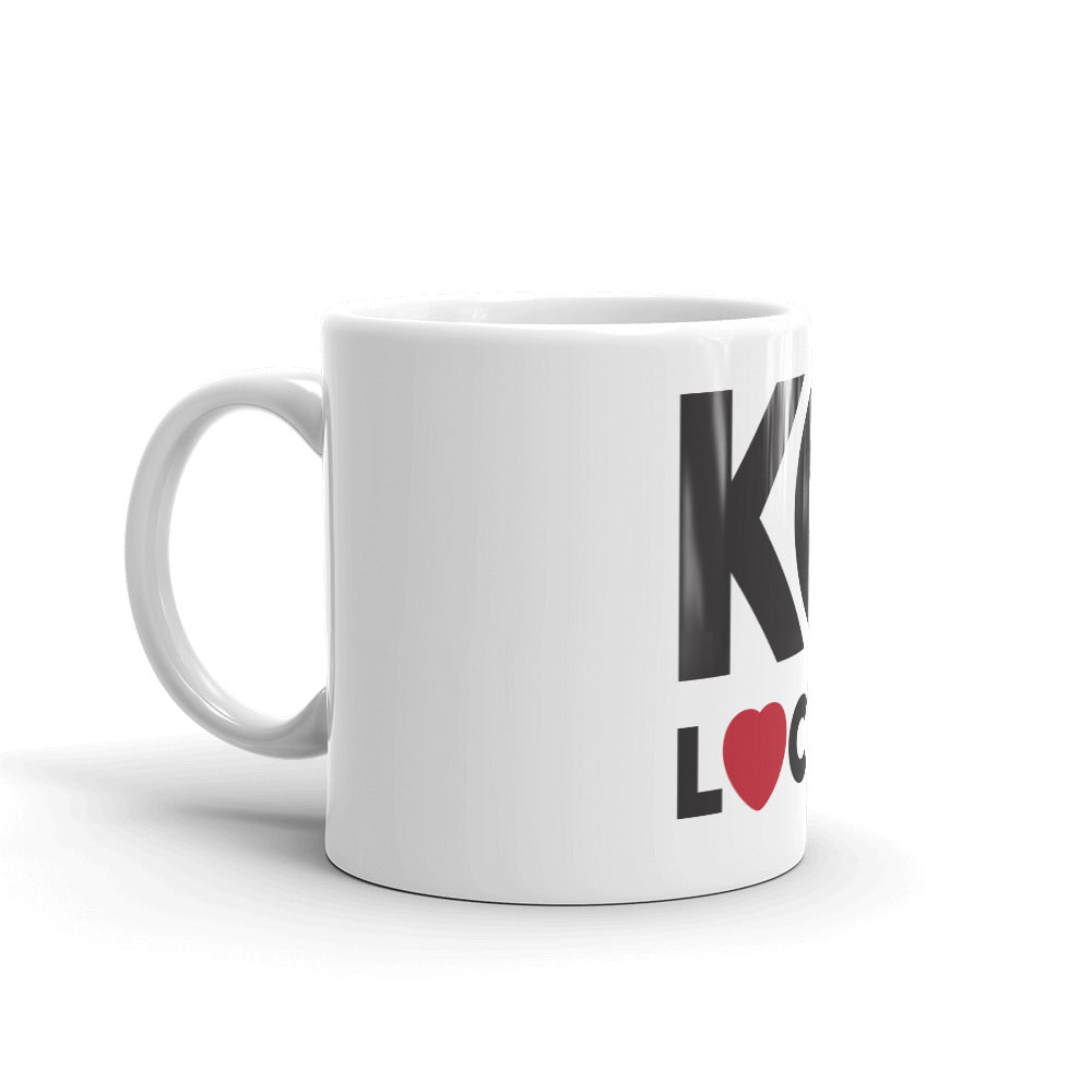 11 oz White KC Local Mug-side