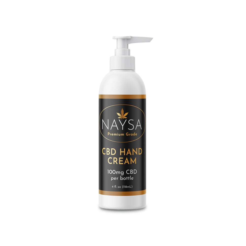 CBD Hand Cream by NAYSA - 100mg - 4 Oz