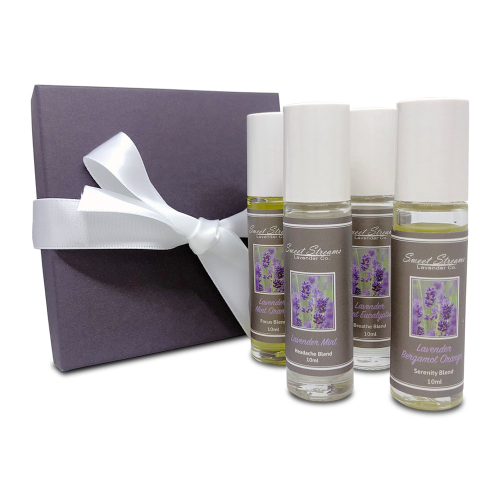 Sweet Streams Lavender Co. Roller Ball Gift Set