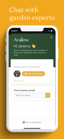 Avalow Garden Coaching App - Grow Team Chat
