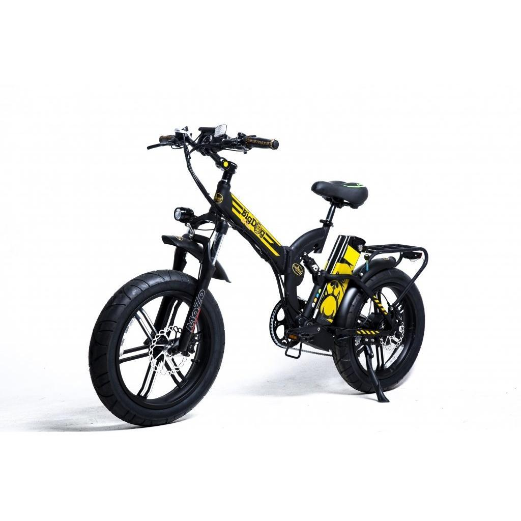 "Big Red W: 2019 GreenBike Big Dog Off Road 20"" 750W Folding Electric"
